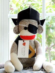 Hey, I found this really awesome Etsy listing at https://www.etsy.com/listing/94555785/pirate-sock-monkey-doll