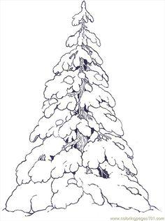 Printable Christmas Coloring Pages | Christmas tree, Christmas ...