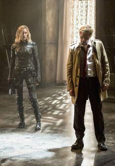 Arrow S4 Ep05 - John Constantine & Laurel
