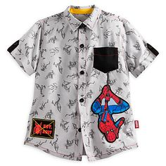 Spider-Man Woven Shirt for Boys