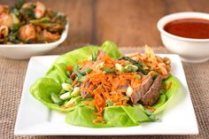 What's not to love about a tasty & fun to assemble lettuce wrap? The zesty Korean flavors in these make them a standout