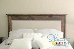 DIY Upholstered Queen Headboard 2019 Oh I kinda like this headboard too! The perfect combo of dark wood (for Tim!) and gorgeous fabric (for me! The post DIY Upholstered Queen Headboard 2019 appeared first on Fabric Diy. Queen Headboard, Wood Headboard, Headboard And Footboard, Headboard Ideas, Headboard Makeover, Bedroom Ideas, Diy Bedroom, Master Bedrooms, Master Suite