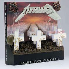 Metallica Memorabilia McFarlane Metallica Master of Puppets 3D LP Album Cover