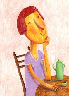 le mie illustrazioni su Behance