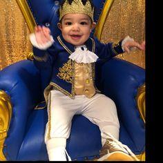 Pour Bébé Garçons Bleu Prince Royal TV Livre Film Fancy Dress Costume Outfit