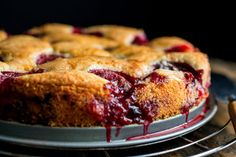 Plum Torte—with a fun short story about this recipe.  New York Times