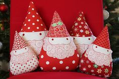 Santa gnomes from Happy Zombie... LOVE