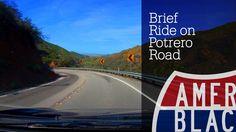 Drive Time - Brief Ride on Potrero Road from Ventura to Malibu California