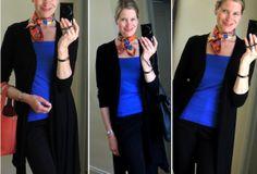 MaiTai's Picture Book: Capsule wardrobe #99 ~ black and blue