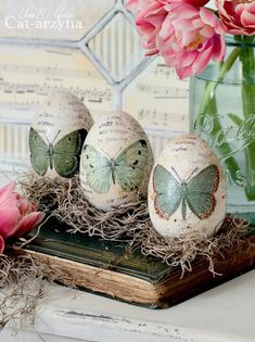 Cat-arzyna: My first Easter Decorations