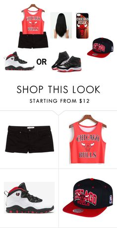 """""""GOING TO THE BASKETBALL GAME"""" by damasjahferguson ❤ liked on Polyvore featuring beauty, MANGO and Retrò"""