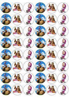 Afbeeldingsresultaat voor woezel en pip cupcake toppers ebay