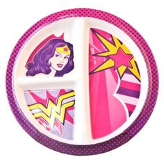 Target: Wonder Woman Divided Plate