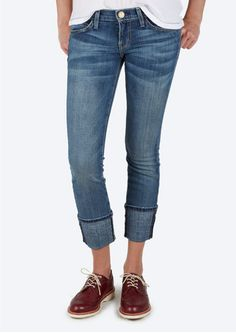 """CURRENT/ELLIOTT® the beatnik """"should be worn snug and low on the hips"""""""