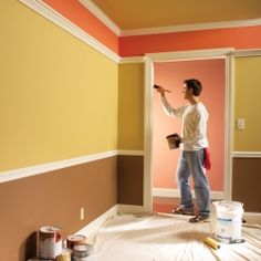 Professional painters share their secrets for producing a great-looking interior paint job. The work will go faster with less hassle too.