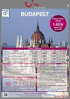 ¡Especial Novios! Estancia en Budapest: 6 días / 5 noches. Precio final desde 1.033€ - http://zocotours.com/especial-novios-estancia-en-budapest-6-dias-5-noches-precio-final-desde-1-033e-2/