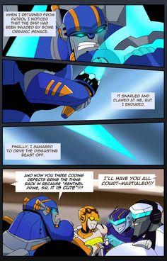 The Elite Warrior by subtilisin on DeviantArt Transformers Funny, Rescue Bots, Drawing Expressions, Creative Art, Animation, Fan Art, Deviantart, Robots, Gemini