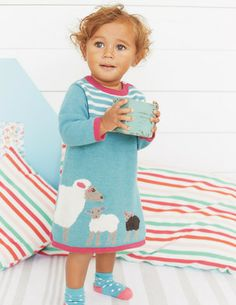 Ducks. I've spotted this @BodenClothing My Baby Knitted Dress