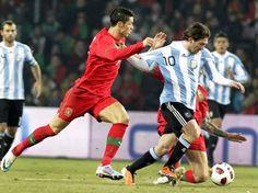Argentina vs Portugal soccer