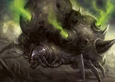 Infectiously Phyrexian Art | MAGIC: THE GATHERING