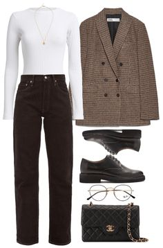 # 247 Outfit - Business Outfits for Work Mode Outfits, Retro Outfits, Cute Casual Outfits, Stylish Outfits, Vintage Outfits, Fashion Outfits, Polyvore Outfits Casual, Hijab Casual, Ootd Hijab