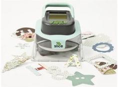This machine would help me with scarpbooking by cutting out shapes for me. With this, I can do scrapbooking in half the time, instead of me cutting out the shapes myself.