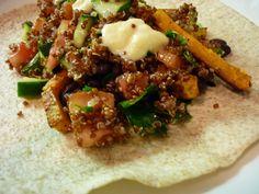 Sweet Potato Shawarma (Vegan)