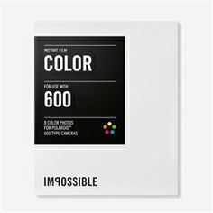 Impossible Project Color 600, Film Polaroid, Instant photography