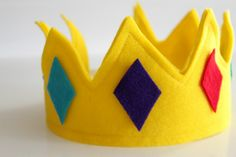 """Want to make one of these for Tanner to go with the book """"the crown on your head"""" by Nancy Tillman"""