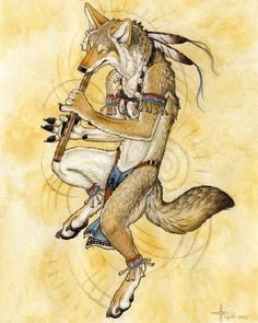 Trickster Coyote.