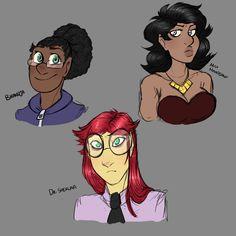 Ladies of Pilot 2/2 (source: mx-bones.tumblr.com)