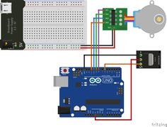 How to connect and control a Stepper Motor with an IR Remote control   OVERVIEW Here's a fun and easy way to control a Stepper motor at a distance using an IR Remote control.The stepper we are using comes with its own driver board making it easy to connect to our UNO. Since we don't want to drive the motor directly from the UNO, we will be using an inexpensive... http://ardu-tech.com.ua/esp8266/connect-control-stepper-motor-ir-remote-control/ Admin #ESP8266 ARDUINO-T