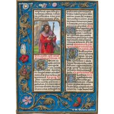 Illuminated manuscripts - JAMES THE GREAT (JULY 25)