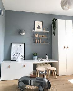Stunning kidsroom, interior design, Scandinavian style - Kinderzimmer - Deco Home Baby Bedroom, Kids Bedroom, Bedroom Ideas, Ikea Girls Room, Trendy Bedroom, Nursery Ideas, Cool Kids Rooms, Wardrobe Doors, Closet Doors