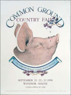Maine Organic Farmers and Gardeners Association > The Fair > Poster > 1990