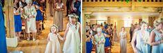 Beautiful #wedding at The Barn at Bury Court. #bridesmaids #flowergirls