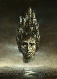 Head castle  by Yaroslav Gerzhedovich, via Flickr