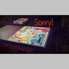 Using Sorry! as a therapeutic game for children who have difficulty taking responsibility for their actions - includes free printable!