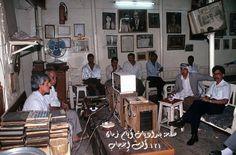مقهى أم كلثوم عام 1990