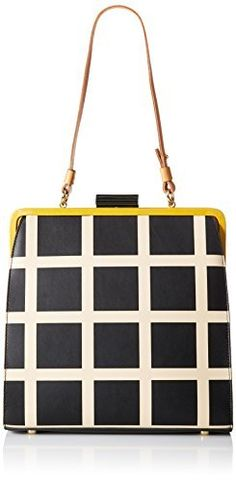 f923c01acd76 Orla Kiely Printed Leather Large Holly Top Handle Bag