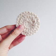 Um ano sem lixo: Discos reutilizáveis de crochê (e algodão) pra tir...
