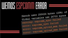 Resolving the Wemos 'espcomm_upload_mem failed' error Fun To Be One, Get One, Are You The One, Family Safety, Home Safety, Raspberry Computer, Cultural Conflict, Wireless Home Security Systems, Security Products