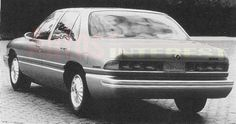 OG |1992 Buick LeSabre | Design proposal in full-size mock-up Buick Lucerne, Buick Lesabre, Clays, Design Model, Concept Cars, Proposal, Dream Cars, Automobile, Sketches
