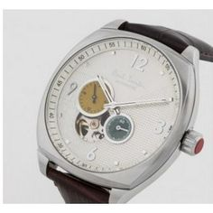 Paul Smith - Limited Edition 'Masterpiece' Automatic Watch (White/Orange/Green/Skeleton Face)