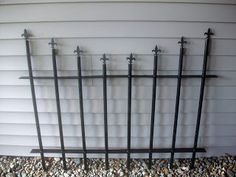 A great way to make a fence from a blog from www.thriftycraftygirl.com!!  Can't wait!