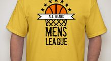 Basketball T-Shirt Designs - Designs For Custom Basketball T-Shirts - Free Shipping!