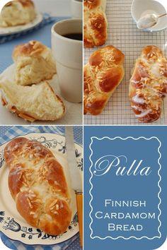 { Pulla :: Finnish Cardamom Bread }