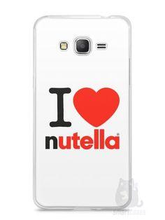 Capa Samsung Gran Prime I Love Nutella
