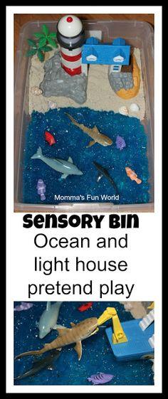 Momma's Fun World: Sensory play