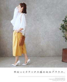 【楽天市場】【再入荷♪3月26日 22時より】裾デザインが素敵!ドルマンブラウスのスタイリング8/28新作:Style for mom